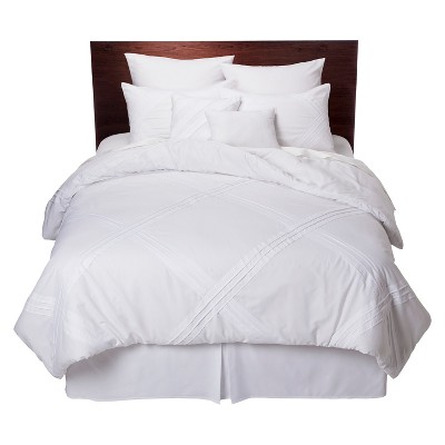 Fabiana Comforter Set 8pc Queen White - Peking Handicraft