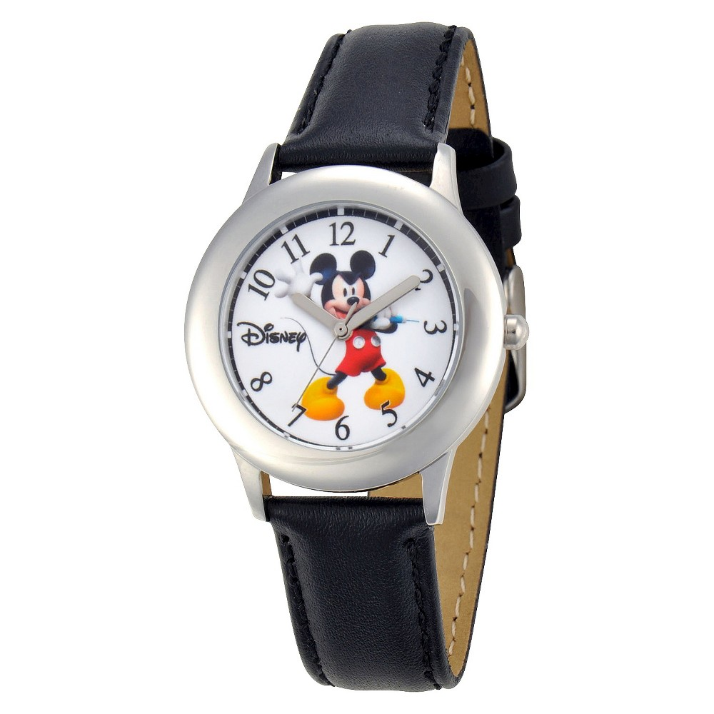 Disney Mickey Watch - Black, Boys