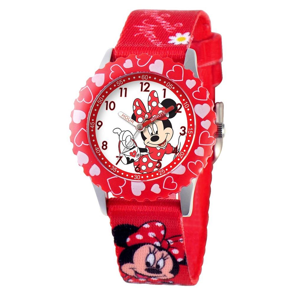 Kids Disney Minnie Watch - Red, Girls