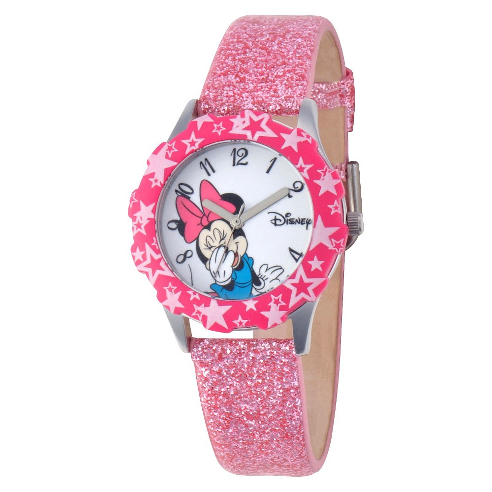 Disney Minnie Watch - Pink, Girl's