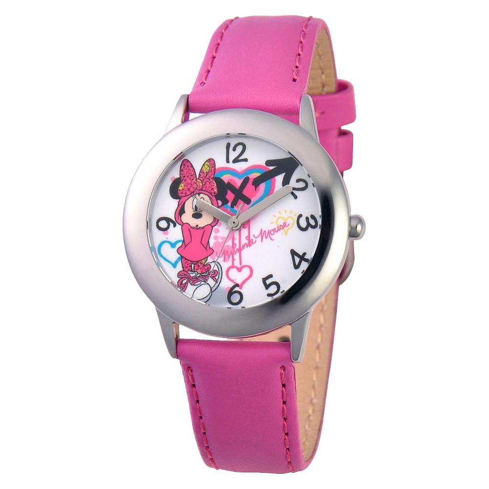 Disney Minnie Watch - Pink, Girls
