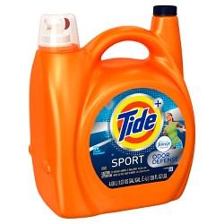 Tide with Febreze Sport Liquid Laundry Detergent 138oz