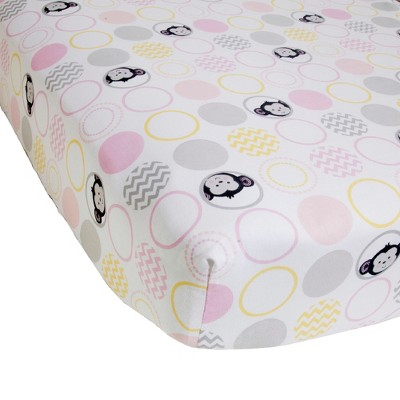 Pinkie Fitted Crib Sheet