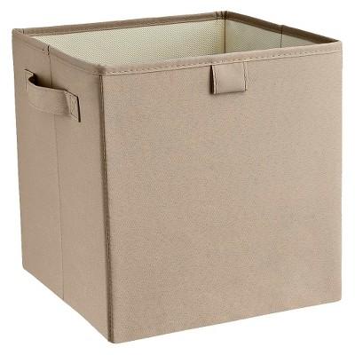 ClosetMaid Decorative Fabric Cube Storage Bin   Graystone
