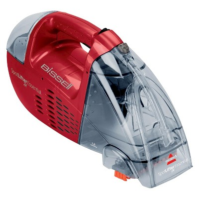 BISSELL® Spotlifter 2X Essential 9.6V Cordless Portable Upholstery and Carpet Cleaner - Red Berrends 17192