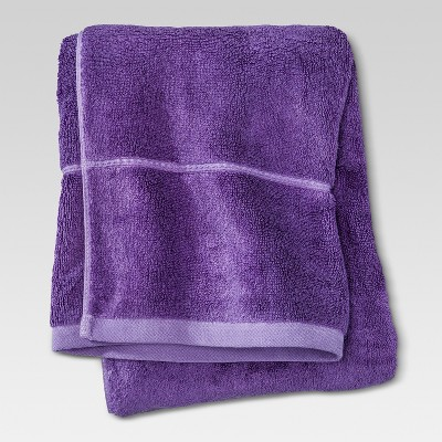 Botanic Solid Bath Towel Grape Fizz - Threshold™