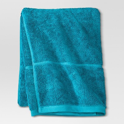 Botanic Solid Bath Towel Monte Carlo Turquoise - Threshold™