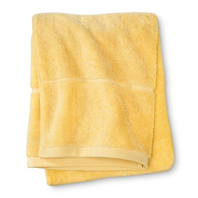 Botanic Solid Bath Towel Beehive Yellow - Threshold™
