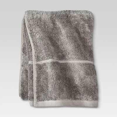 Botanic Bath Towel - Cloak Gray - Threshold™