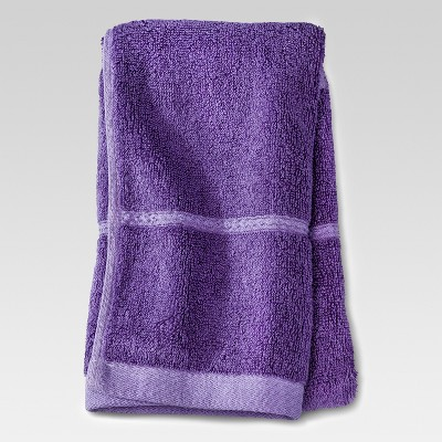 Botanic Solid Hand Towel Grape Fizz - Threshold™