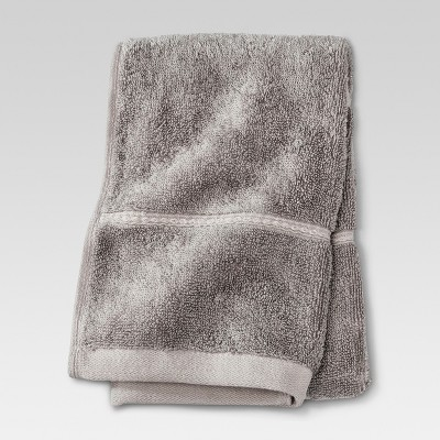 Botanic Solid Hand Towel Cloak Gray - Threshold™