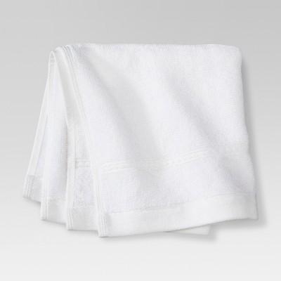 Botanic Solid Washcloth White - Threshold™