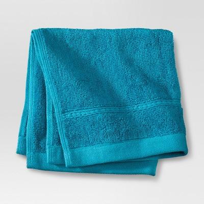 Botanic Solid Washcloth Monte Carlo Turquoise - Threshold™