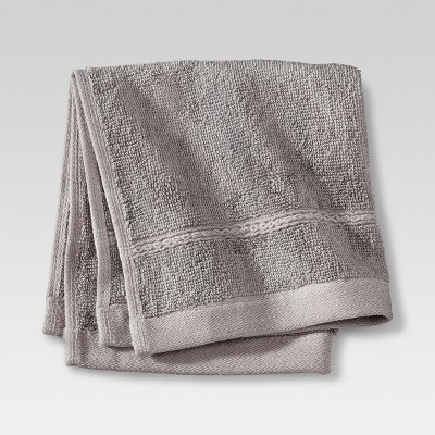 Botanic Solid Washcloth Cloak Gray - Threshold™