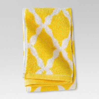Botanic Fiber Hand Towel Beehive Yellow - Threshold™