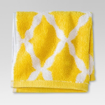 Botanic Fiber Washcloth Beehive Yellow - Threshold™
