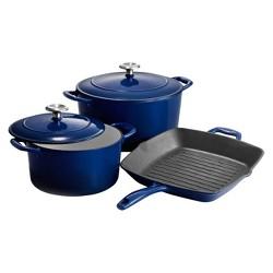 Porcelain Enameled Cast Iron Series 1000 - Gradated Cobalt Blue