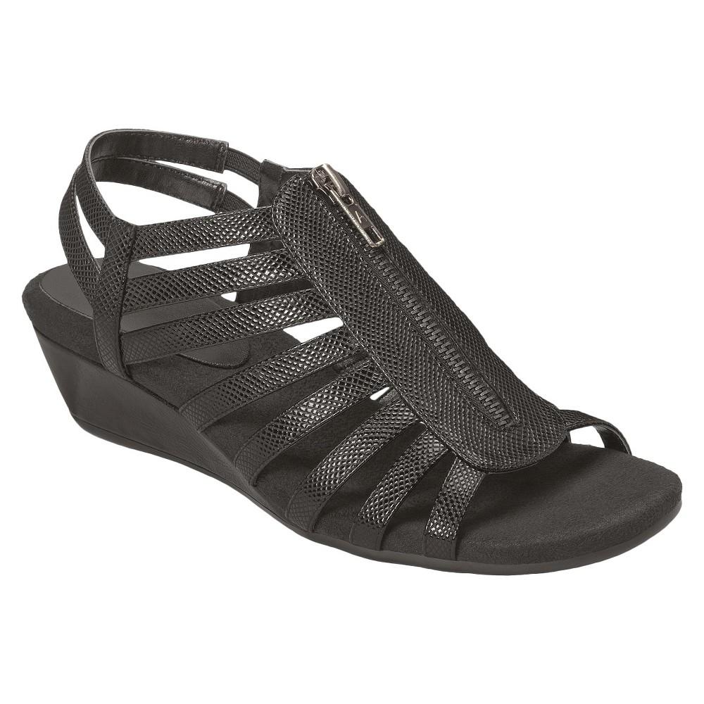 Womens A2 by Aerosoles Yetaway Sandals - Black 5.5