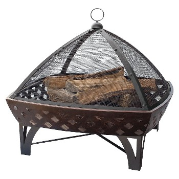 UniFlame Oil Rubbed Bronze Outdoor Firebowl