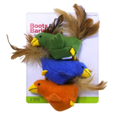 Toy Bird/Fish w/Catnip - Boots & Barkley™