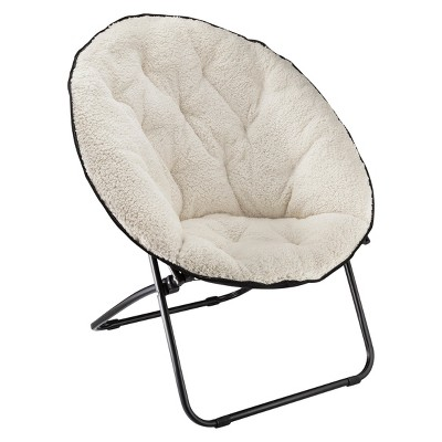 Sherpa Dish Chair White - Room Essentials™