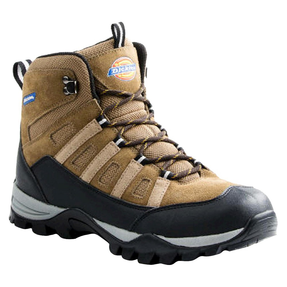 Mens Dickies Escape Genuine Suede Hiker Boots - Brown 12