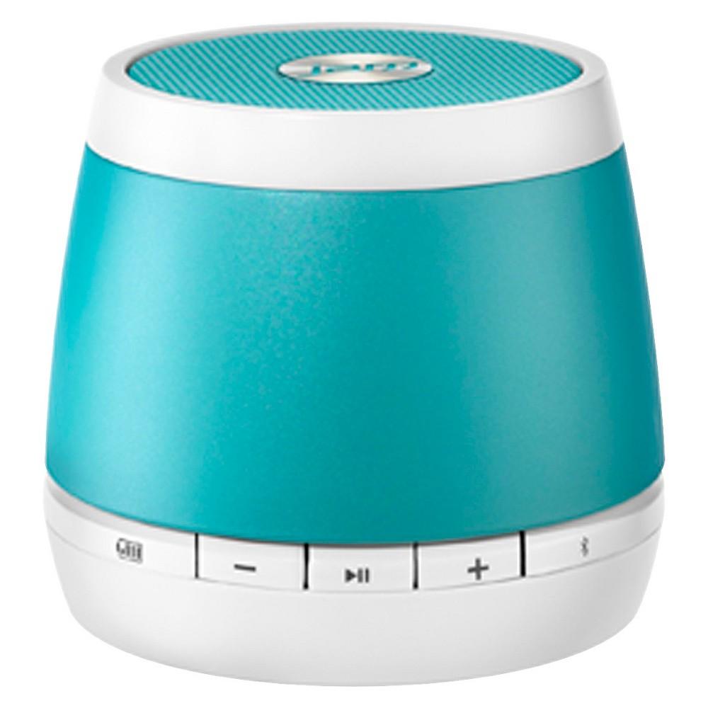 Hmdx Jam Classic Wireless Speaker - White/Teal (White/Blu...