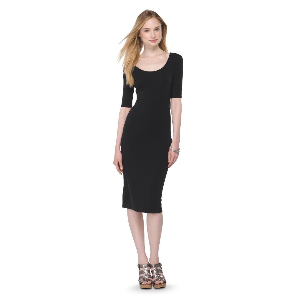 Mossimo Supply Co. Juniors Midi Dress   Black L(11 13)