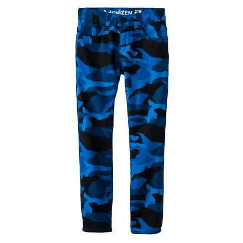 DENIZEN® from Levi's® Boys' 216™ Skinny Jeans  - Blue Camo - image 1 of 2