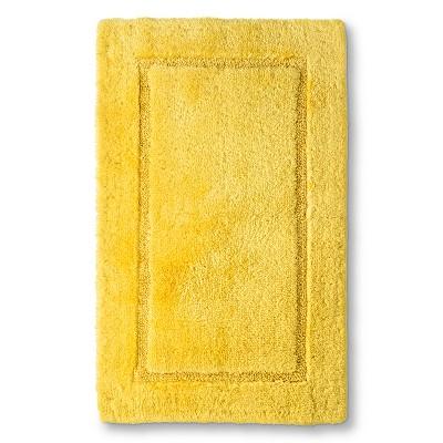 Botanic Fiber Bath Rug Beehive Yellow (20 X32 )- Threshold™