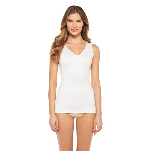 Maidenform Self Expressions Women's 4-Ways to Wear Reversible Cami 284 - White/Latte M