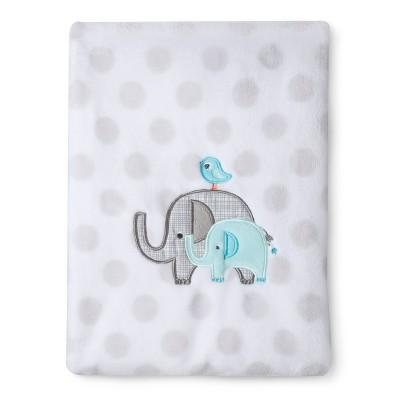 Circo® Super Soft Embroidery Blanket - Elephant Parade