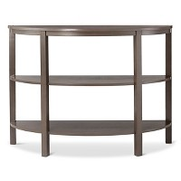 Threshold Parsons Demilune Console Table