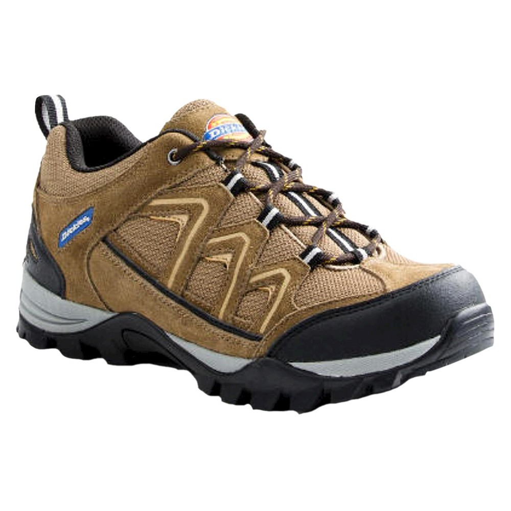 Dickies Mens Solo Steel Toe Hiker Shoes - Brown, Size: 8