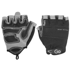GoFit Men's Pro Sport-Tac Glove - Black/Gray