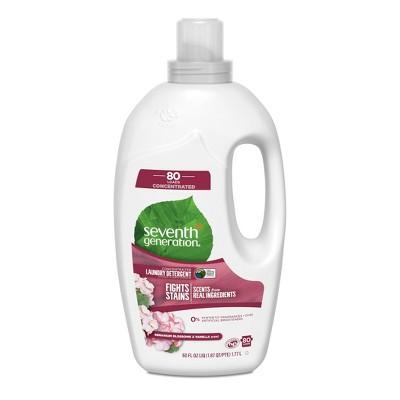 Seventh Generation™ Geranium Blossoms & Vanilla Natural Liquid Laundry Detergent - 60oz