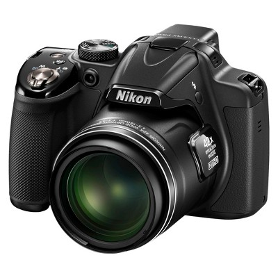 Nikon COOLPIX P530 16.1MP Digital Camera with 42x Optical Zoom - Black