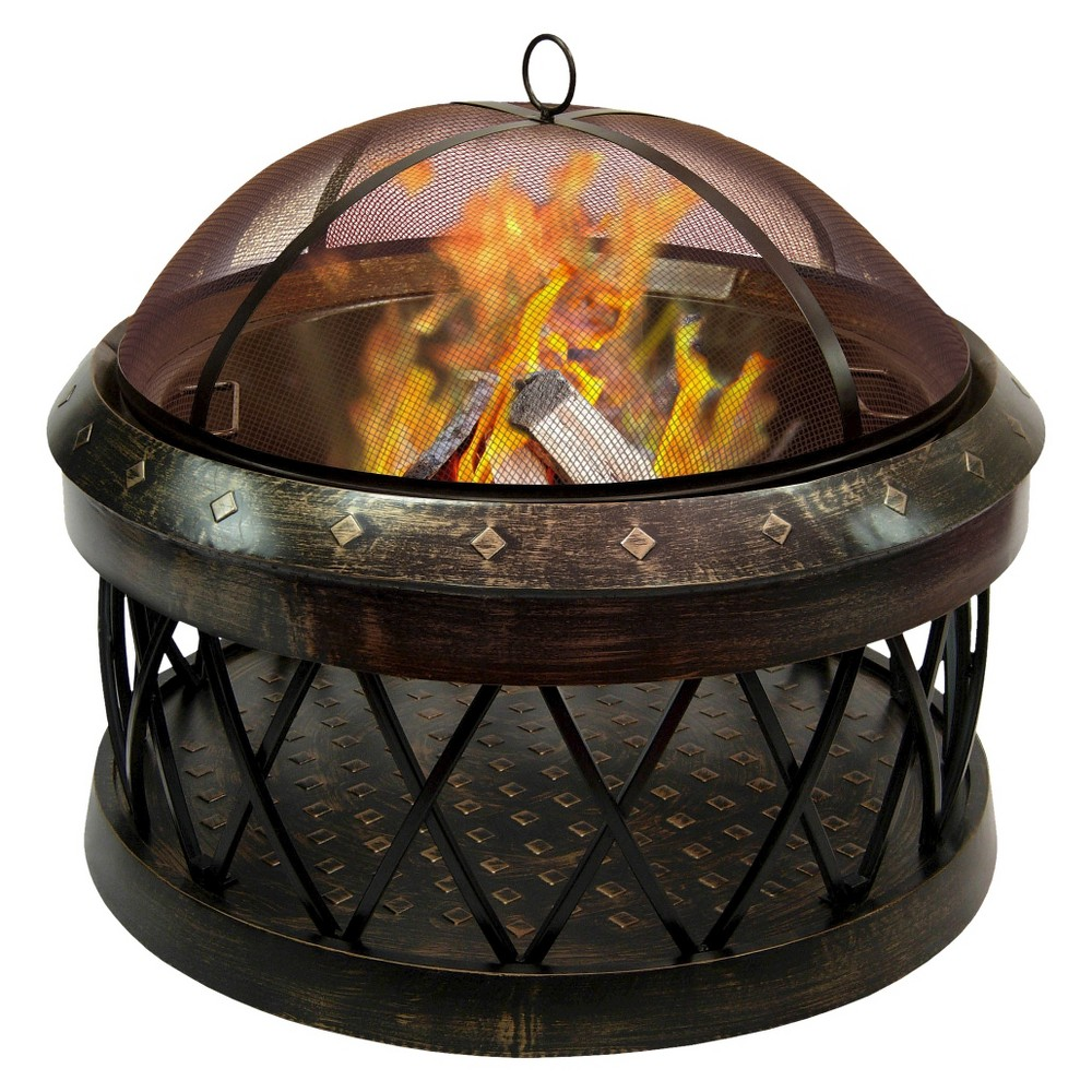 Landmann Bartow Fire Pit Antique Bronze 21355