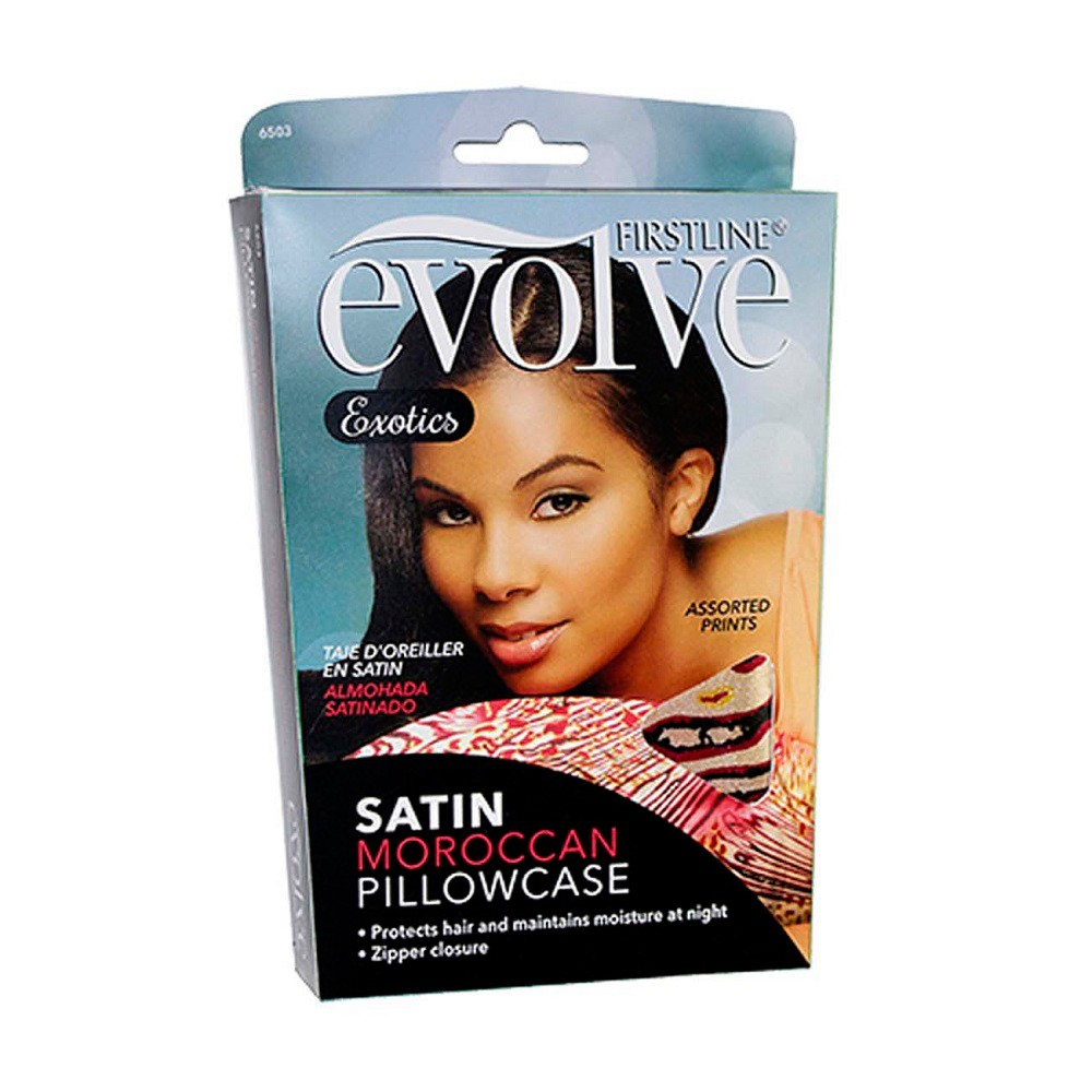 Evolve Naturally Satin Pillowcase, Assorted