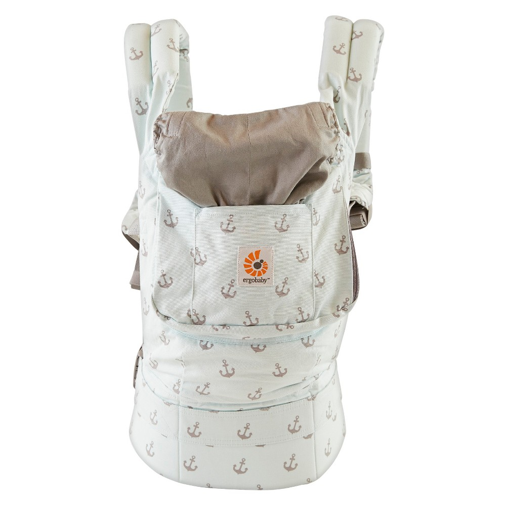 Ergobaby Original Collection Baby Carrier - Sea Skipper, Green/Gray
