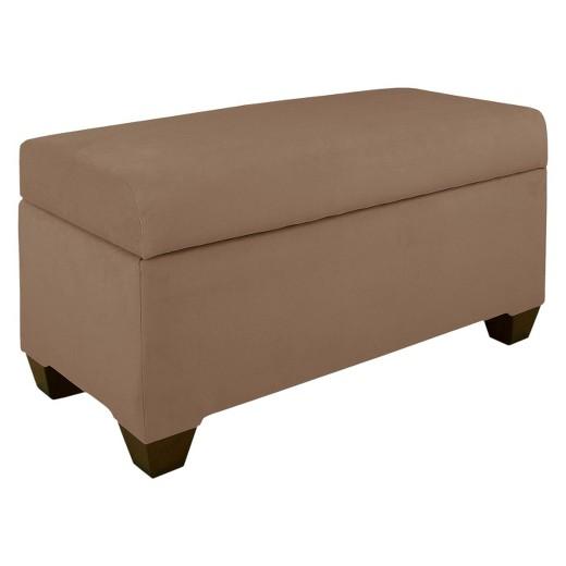 Skyline Custom Upholstered Storage Bench Skyline Furniture Target