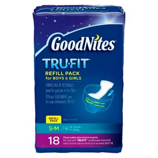 GoodNites? Tru-Fit* Disposable Absorbent Inserts for Boys & Girls Refill Pack