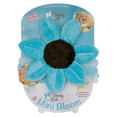 Blooming Bath Mini Bloom Scrubbie - Turquoise