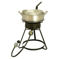 King Kooker® Bolt Together Outdoor Cooker with Aluminum Fry Pan Package