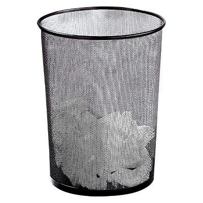 Wire Waste Paper Basket tall wire waste basket : target
