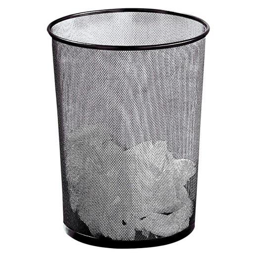 Rolodex Round Wire Mesh Wastebasket Black Target