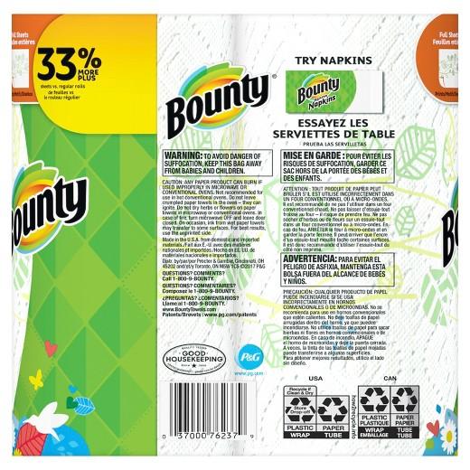 Bounty Full Sheet Paper Towels 2 Big Rolls Target