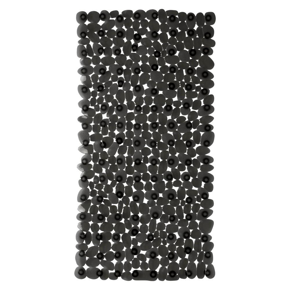 "Room Essentials Scattered Threads Stone Bath Mat, 14"""" x 27"""""