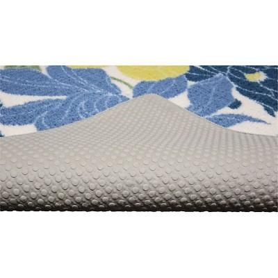 Spring Floral Kitchen Rug Blue   Threshold™