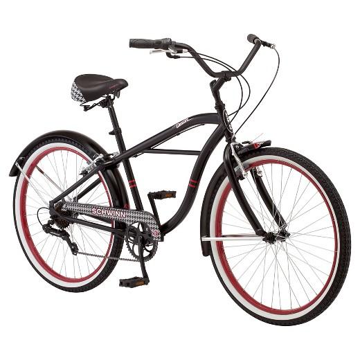 Schwinn Men S 26 Cruiser Bike Black Red Target